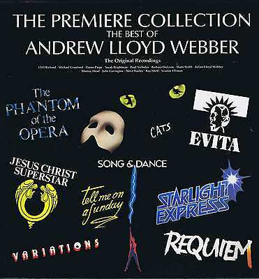 The Best Of Andrew Lloyd Webber – The Premiere Collection – LP Vinyl Record