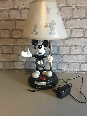 Disney Micky Mouse Black And White 75th Anniversary Limited Edition Lamp