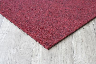 Premium Red Carpet Tiles - 4m2 Box Commercial Domestic Office Heavy Use Flooring