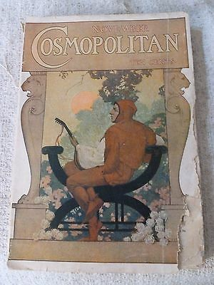 Cosmopolitan Magazine November 1907 Interesting Reading and Adds