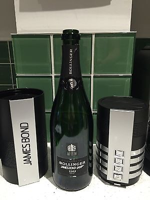 James Bond Bollinger (empty) 50th Anniversary  limited edition 002 for 007