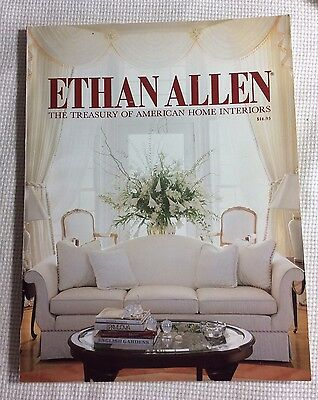 90Th Edition, Ethan Allen, The Treasury Of American Home Interiors Vg Cond.