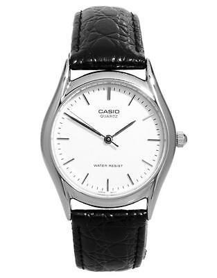 Casio Classic Gents Analogue Watch MTP-1154E-7AEF Genuine Leather Strap RRP £25