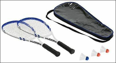 Speed- Minton Set 2x Schläger 3x Bälle Hudora HD- 55 Badmintonset Speed 75014