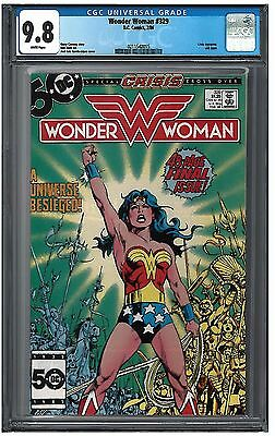 Wonder Woman #329 CGC 9.8 (2/86) DC Comics last issue white pages