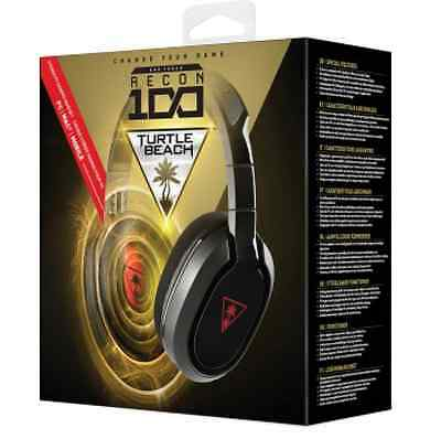 Casque Turtle Beach Ear Force Recon 100 stereo Gaming Headset pc MAC