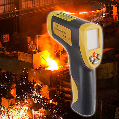 Digital Infrared IR Laser Thermometer Professional Temperature Tester HT-822 ULS