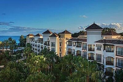 2 Bed at 5* Marriott's Playa Andaluza, Spain. Rental date: March 23-30,2018.