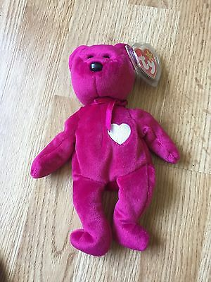 Ty Beanie Baby Valentina Tags Retired L@@K Cool With Error
