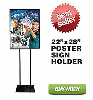 "Floor Standing Poster Display Stand Sign Holder 22"" X 28"""