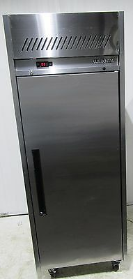 williams upright single door  fridge chiller stainless steel mobile HJ1SA