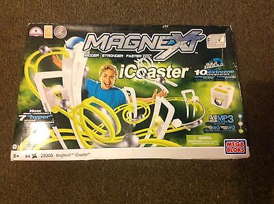 Magnext iCoaster, 64pc, mega bloks magnetic building toy 29305