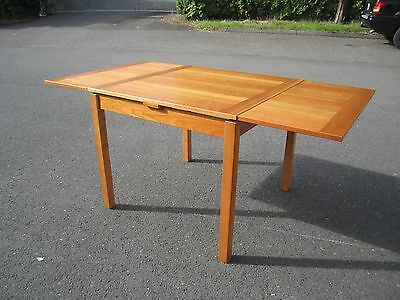 Vintage Mid-Century Modern Ansager Mobler Danish Teak Dining Extension Table