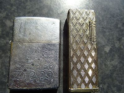 Ronson Gold & Zippo Infinity Design Lighters Tobaciana