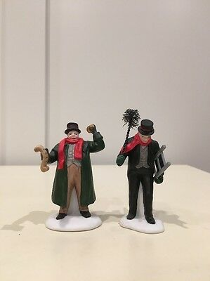 """Department 56 Heritage Village Collection """"Town Crier and Chimney Sweep"""" #5569-7"""