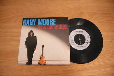 """Gary Moore, Cold day in hell 7"""" Single - VS1393 VGC+"""