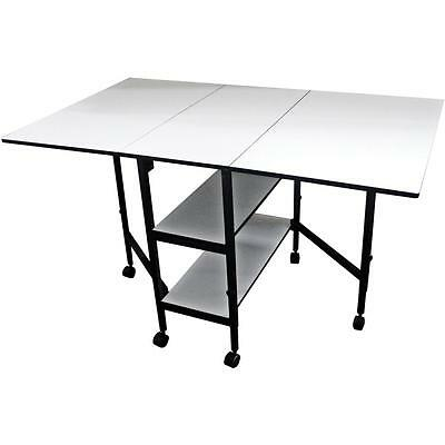 "Home Hobby Adjustable Height Foldable Table 59""X35.8"" Open FOB: MI 38431"