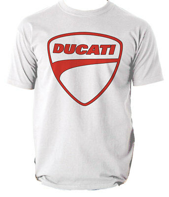 Ducati T Shirt Motorcycle Sizes Racing Printed logo Style  Motorbike
