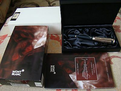 MONTBLANC CHARLES DICKENS Writers Series LIMITED EDITION FOUNTAIN & BOOK UNUSED