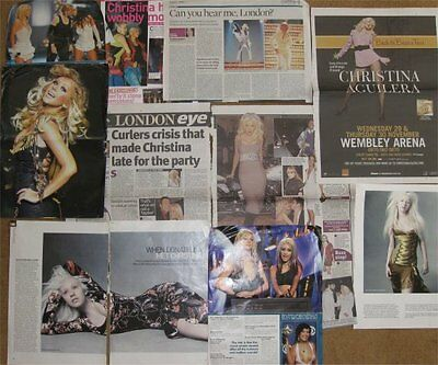 CHRISTINA AGUILERA clippings / cuttings UK    INTERVIEW