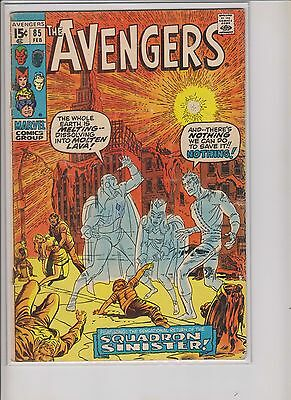 The Avengers #85 VG 4.0 - Squadron Supreme first appearance!!