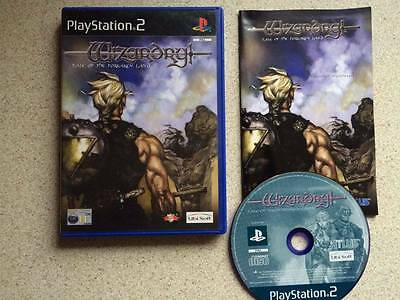 Wizardry: Tale of the Forsaken Land (Complete!) Rare! PlayStation 2 PS2 Game