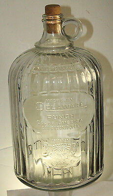 San Antonio Tex Delaware Punch Soda Bottle One Gallon Jug
