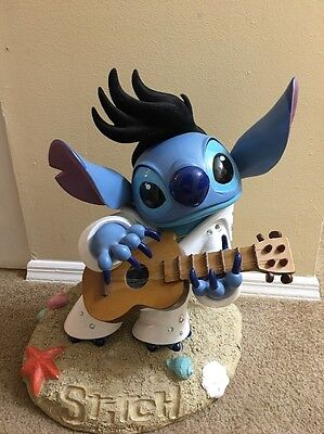 "Rare Disney 19""  LILO & Stitch Elvis Presley Big Fig"