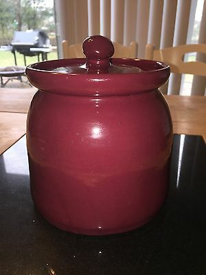 Bybee Pottery Burgundy Replacement Canister