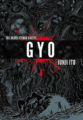 Gyo 2-in-1 Deluxe Edition New Hardcover Book Junji Ito