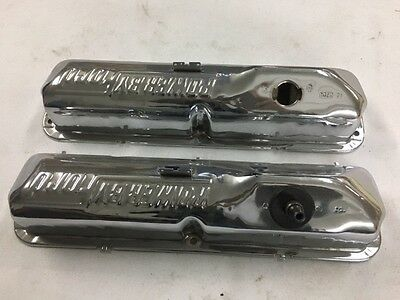 1968/69 Ford Mustang 390/428 Chrome Valve covers Mint originals