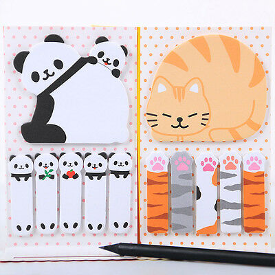 School Supplies Paper Sticker Bookmarks Memo Pad Sticky Notes Notepad