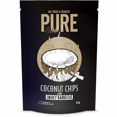 Coconut Chips with Smoky Barbecue 40g - Pure Fields