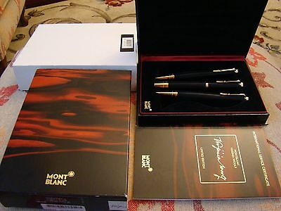 Montblanc Writers Limited Edition Virginia Woolf 3 Set (Fp/bp/mp) New Unused