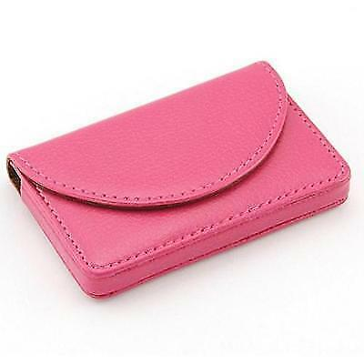 Yinfaxin Women Leather Business Name Card Wallet / Holder 25 Cards 3.9L x 2.8W