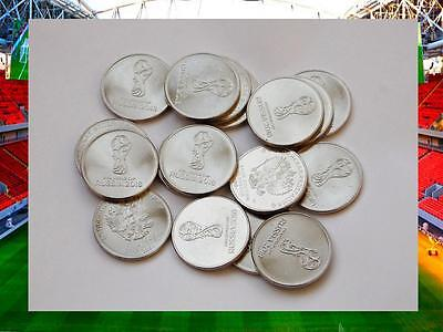 10 coins wholesale 25 rubles 2018 - FIFA World Cup Russia 2018 UNC FREE SHIPPING