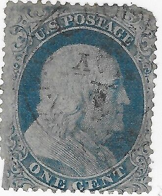 US Stamp Collection US Scott#19 Washington Centering One Cent CV $2250 1c