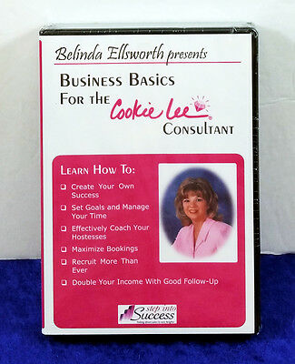 Belinda Ellsworth Step Into Success Presents Business Basics Cookie Lee NEW