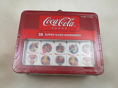 Coca Cola Dominoes Tin New Sealed Fast Free Shipping