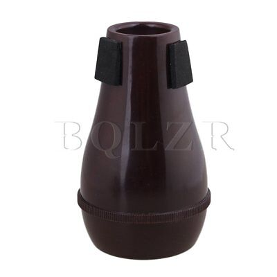BQLZR Red Wine Color ABS Plastic Trumpet Straight Mute Silencer Musical Part