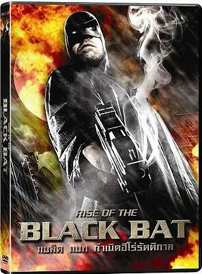 Rise of the Black Bat (DVD PAL COLOR)  Jody Haucke, Dixie Collins, Action Sci-fi