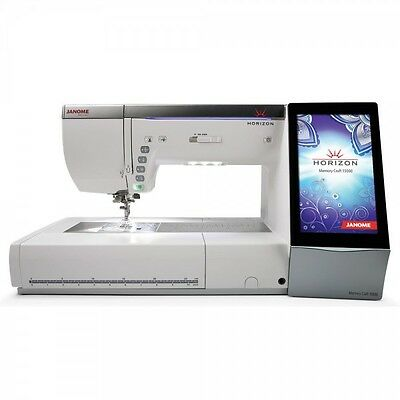 Janome MC15000 Sewing and Embroidery Machine – FLOOR MODEL – Open Box