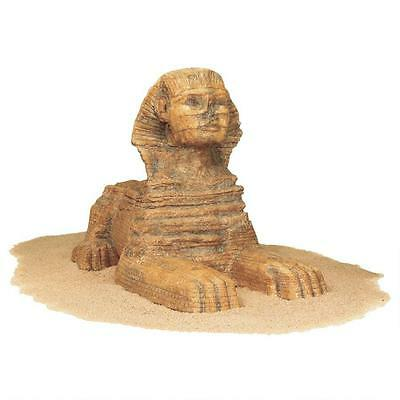"Great Sphinx Sculpture Egyptian Lion Human Ancient  Museum Replica Resin 5 "" H"