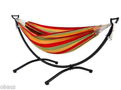 Oztrail Double Anywhere Hammock With Frame Stand Set Camp Bedding Relax