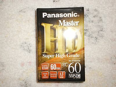 Compact Video Cassette Tape – Panasonic HD Master Super High Grade Tape NV-EC60H