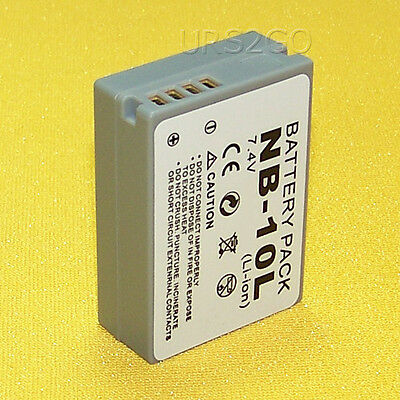 High Power 1360mAh Standard Rechargeable Battery for Canon PowerShot G5 X Camera