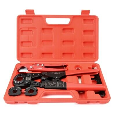 "IWISS Pex Pipe Crimping Tool kit for 3/8""-1"" Copper Ring with Cutter ASTM F1807"