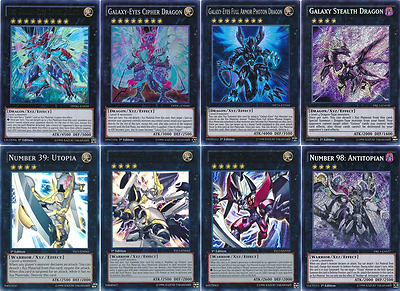 49 Cards Galaxy-Eyes Deck| 2017 BEST* Galaxy-Eyes Cipher Dragon Deck Yugioh