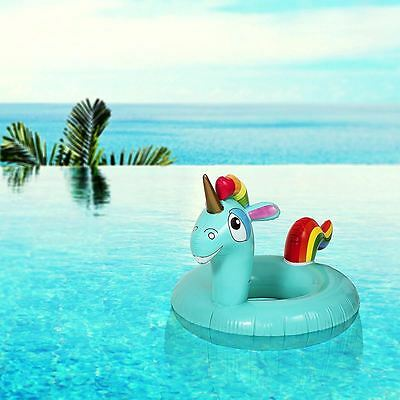 Pop Fix Giant Inflatable Magical Unicorn Ring Inflatable Fun Water Lilo Large