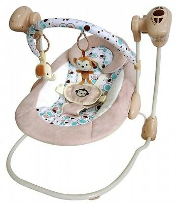 Musical Baby Swing with Variable Speed and Timer